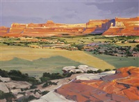 canyonlands national park by william c. hook