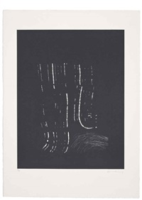 untitled (4 works) by hans hartung