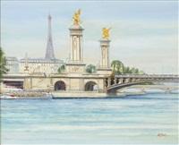 paris - le pont alexandre ii by h. rolf rafflewski
