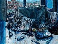 a still life from the artist's studio by eduardo chillida belzunce