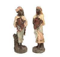 figures of arabs (pair) by austrian school (20)