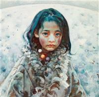 tibet girl by ai xuan