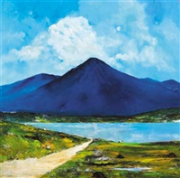the road to renvyle, connemara by david gordon hughes