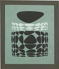 belle-isle by victor vasarely
