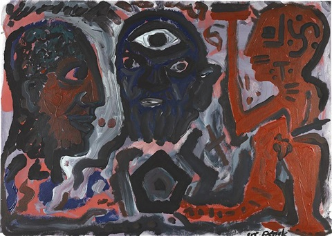 socrates by a.r. penck