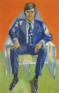 timothy collins by alice neel