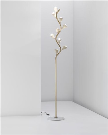 rare floor lamp model no b01012 by gino sarfatti