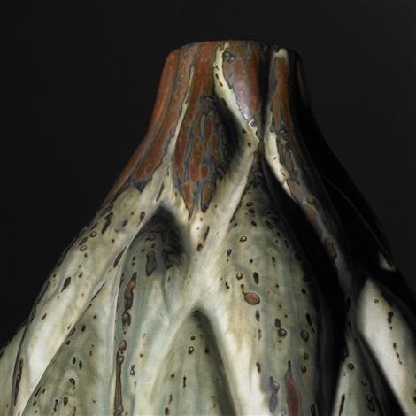 budding gourd vase by axel johann salto