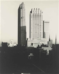 new york (from the shelton) by alfred stieglitz
