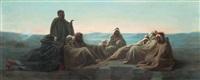 réunion de dignitaires by edouard moyse