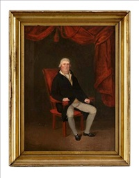 portrait of a seated gentleman by anglo-american school (19)