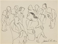 the cocktail party by james thurber