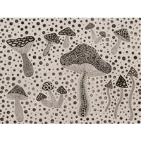 mushrooms(kusama207) by yayoi kusama