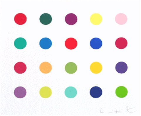 lauric acid butly ester by damien hirst
