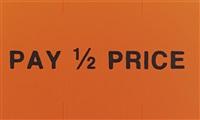 pay half price (sticker) by adam mcewen
