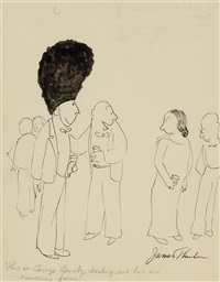 this is george busby, darling and he is in marvelous form by james thurber