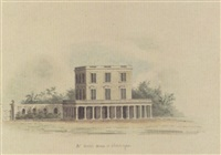 mr. muir's house at chowringhee, calcutta by hubert cornish