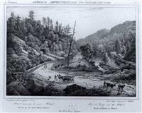 itineraire pittoresque du fleurve hudson et des parties   laterales de l'amerique du nord by jacques-gerard milbert