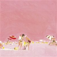 pink beach by isca greenfield-sanders