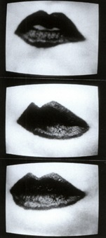 mouth-work (3 photos on 1 sheet) by friederike pezold
