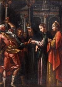 le mariage de la vierge by jacopo (da empoli) chimenti