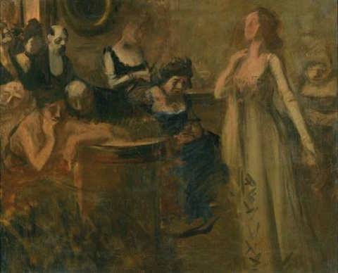 le recital by jean louis forain