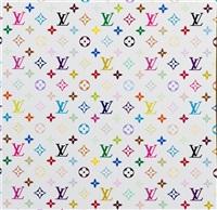 monogram multicolore-white (contained in original louis vuitton box) by takashi murakami