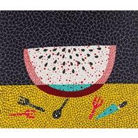 watermelon by yayoi kusama