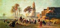 grand marché au caire by hans ludwig fischer
