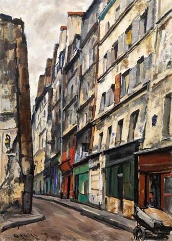rue des vertus charrette by takanori oguiss