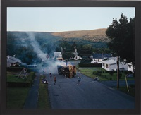 untitled (overturned bus) by gregory crewdson