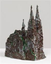 altered souvenir of the cologne cathedral by coosje van bruggen and claes oldenburg