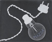 mazda light bulb by claude tolmer
