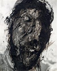 christus-überzeichnung by arnulf rainer