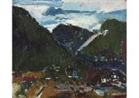 foothills, nagano by shiko munakata