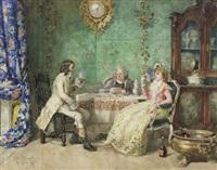 tea time by attilio simonetti