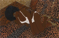 mama bush by mickalene thomas