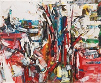 lances by jean paul riopelle