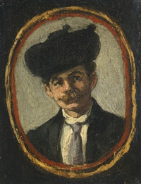 portrait de monsieur pagans by édouard manet