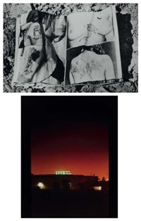 la valise (portfolio of 12) by lewis baltz