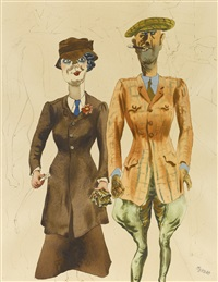 american rich by george grosz