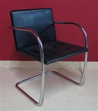 fauteuil by ludwig mies van der rohe