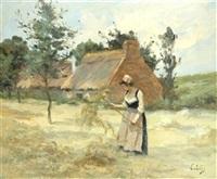 la faneuse by eugène labitte