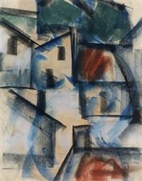 houses by a square by johan hendrik van ieperen