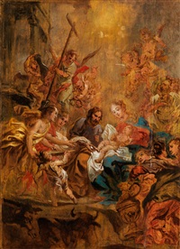 die beschneidung christi by cornelis schut the elder