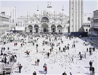 venezia san marco (from landscapes with figures) by massimo vitali