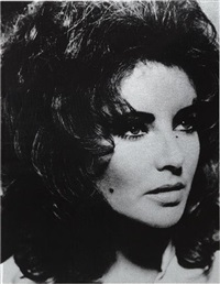 liz taylor by russell young