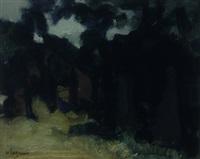 forest's edge by johan hendrik van ieperen