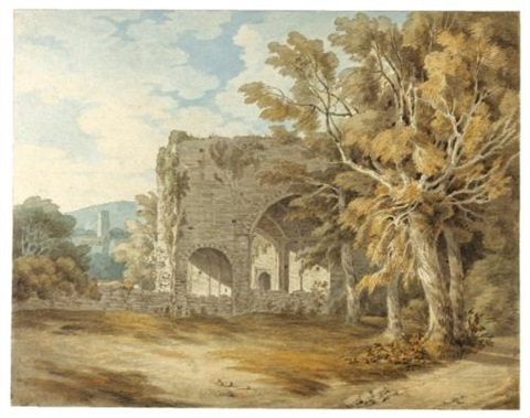 cornworthy abbey south hams devon by john white abbott