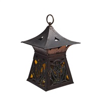 hall lantern by arts & crafts